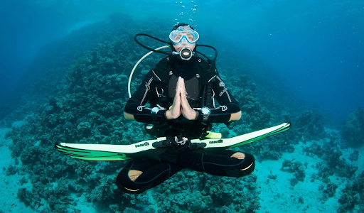 Calm Mind and Body with the Serene Ocean Environment
